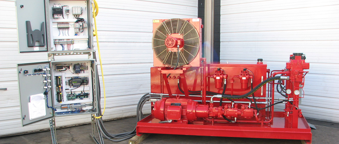 Load Frame Hydraulic Power Unit