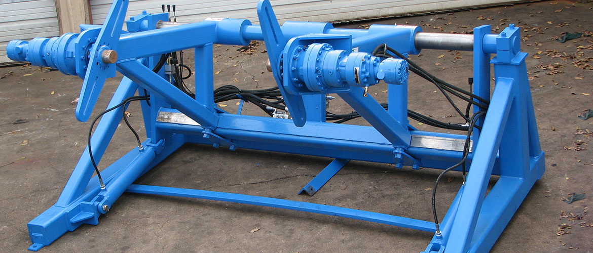 Custom Hydraulic Motor Cable Reeler